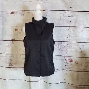Eileen Fisher Fleece Lined Vest Size Small